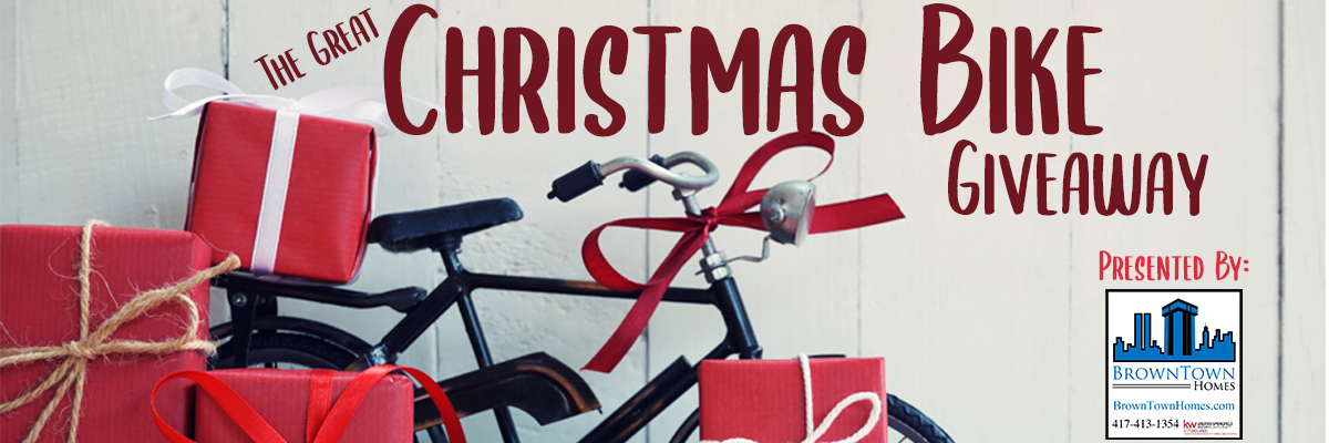 The Great Christmas Bike Giveaway